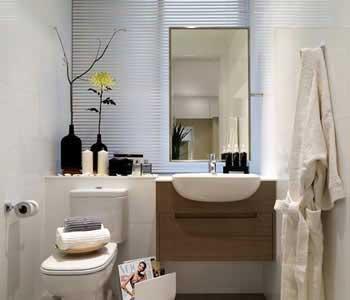 küçük banyolar için dolap fikirleri