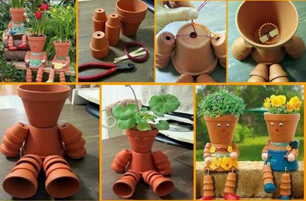 Saksıdan dekoratif ürün yapımı