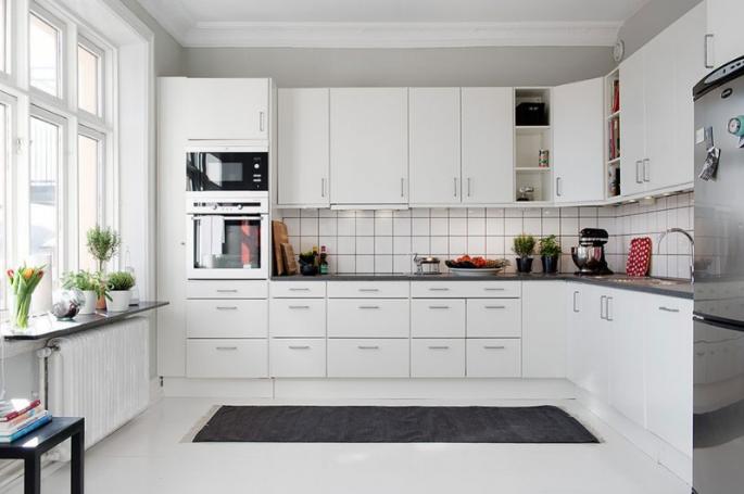 En Trend Beyaz Mutfak Modelleri Decobaz
