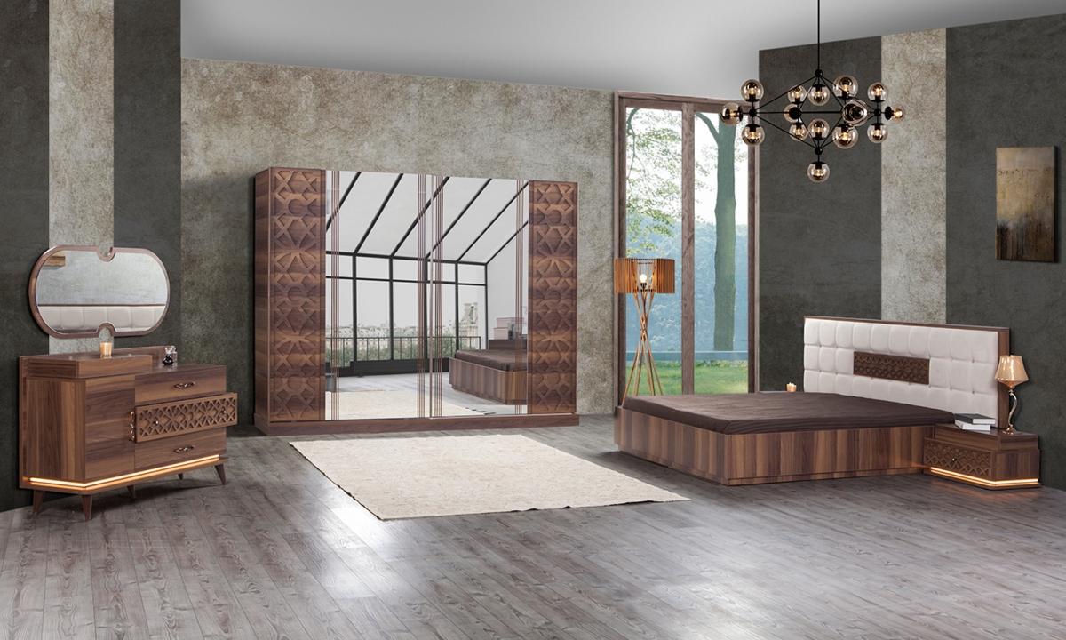 2017 modern yatak odas modelleri ev dekorasyonu ve yeni modeller - Modern Yatak Odas Dekorasyon Modelleri Bugu Modern Yatak Odasi Takimi 26277 12 B