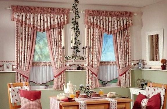 brillant mutfak perde modelleri decobaz. Black Bedroom Furniture Sets. Home Design Ideas