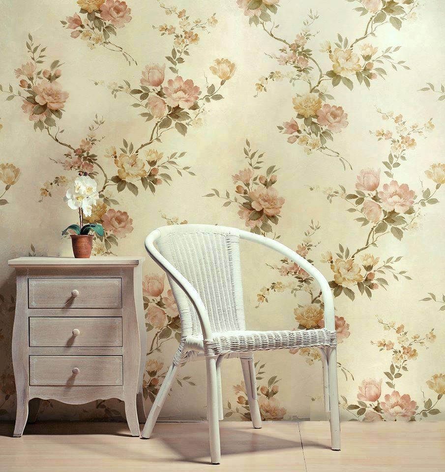 Oturma Odası için Duvar Kağıdı Modelleri