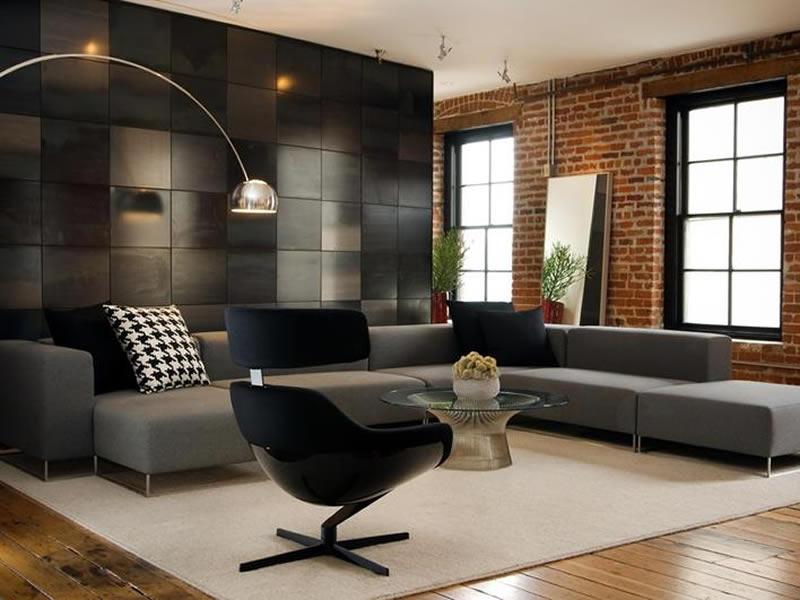 modern tasarim oturma odasi