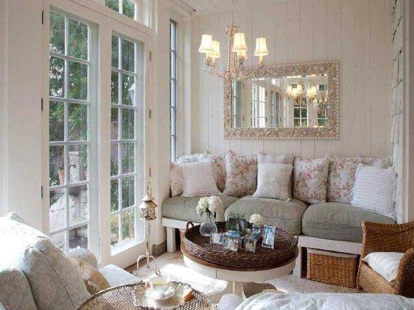 rahat oturma odası dekorasyonu