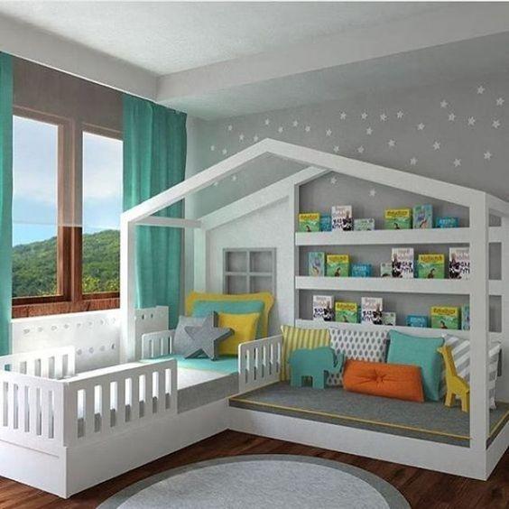 bebek odası dekorasyonu için ilginç fikirler (2)