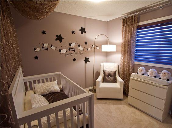 bebek odası duvar dekorasyon fikirleri