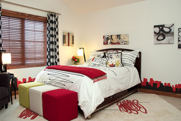 genç odası tasarımları küçük odalar için