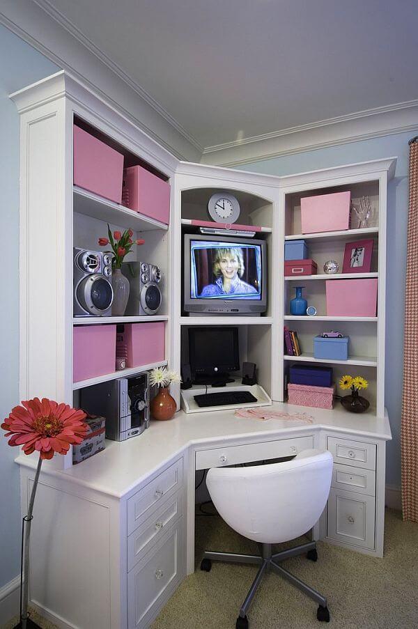 küçük odalar için genç odası fikirleri