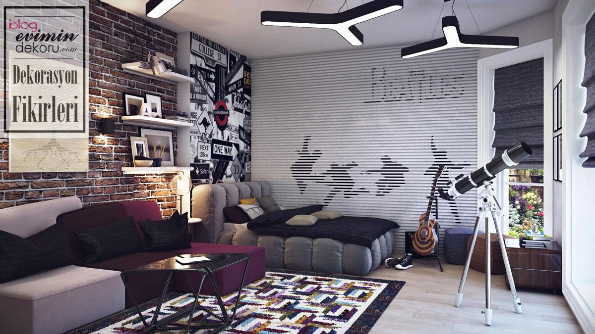 oda tasarımları genç 2018