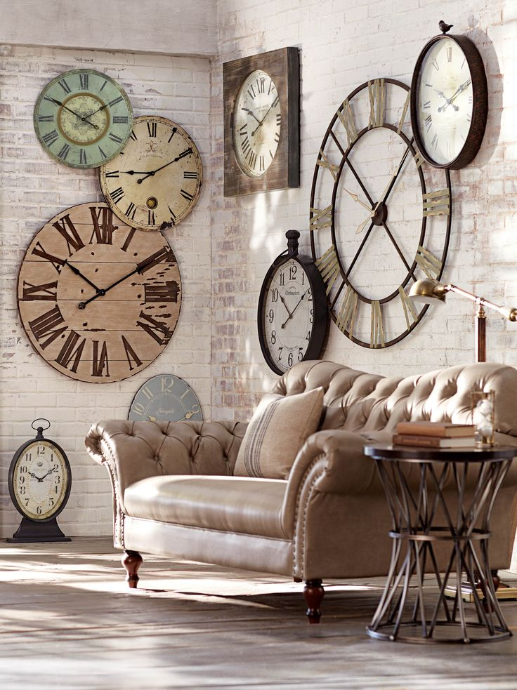 tarz duvar saatleri