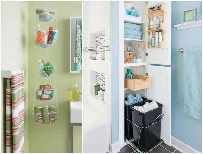 küçük banyo için dekorasyon önerileri