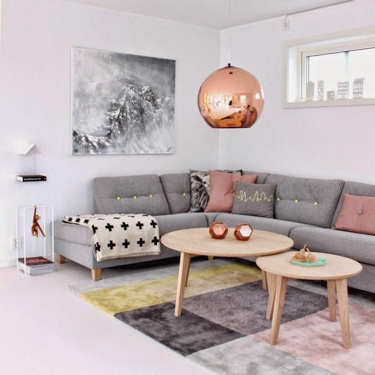pembe-gri-salon-dekorasyonu