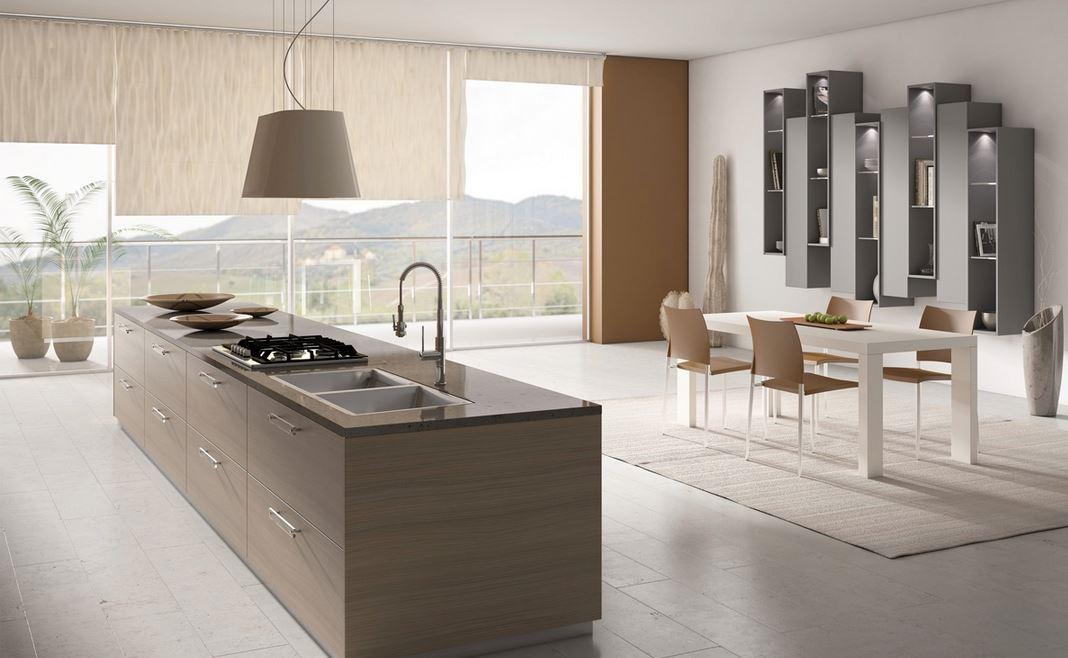 dogal ahsaptan italyan mutfak dolaplari ve dekorasyon 2018