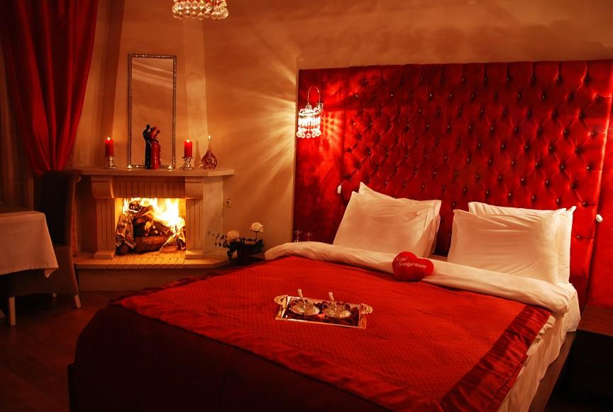 kırmızı-yatak-odası-dekorasyonu