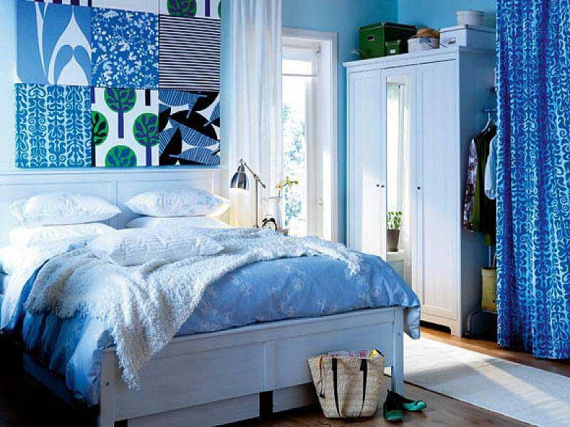 mavik yatak odası dekorasyonu