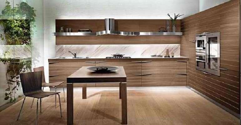 modern ahsap italyan mutfak tasarimları