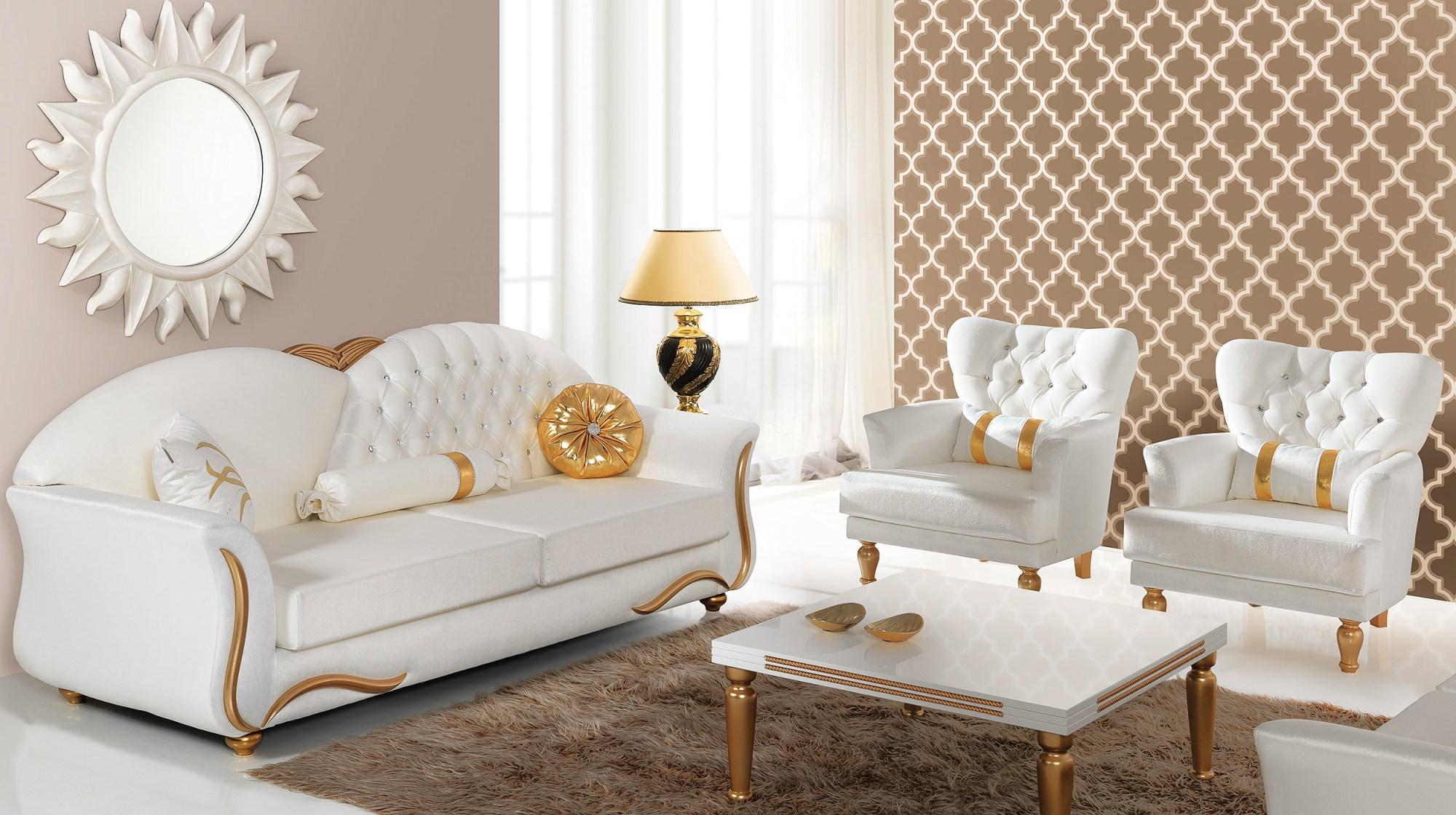 Dekorasyonda altın aksesuar trendi