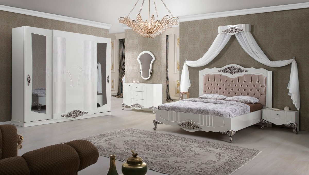 vetora yatak odasi takimi aydınlatma 2018