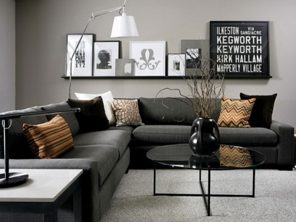 Nice living room wall colors for black furniture wall decorating ideas