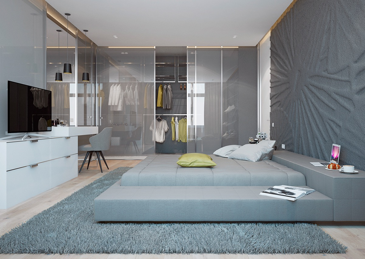stylish-bedroom-with-attached-wardrobe