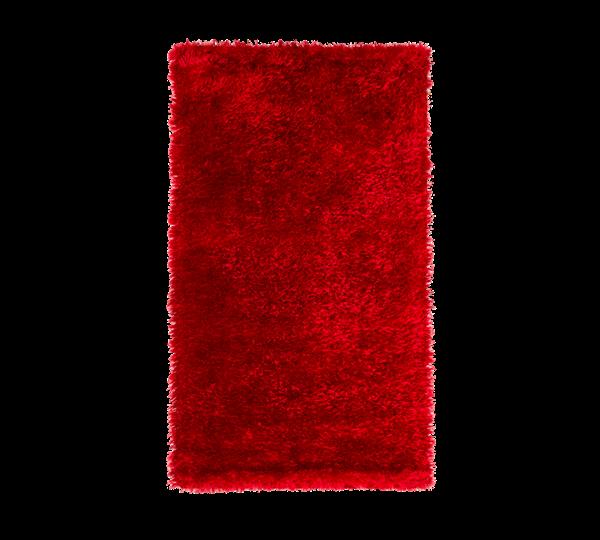 çilek halı Shaggy Medium Halı (Kırmızı)