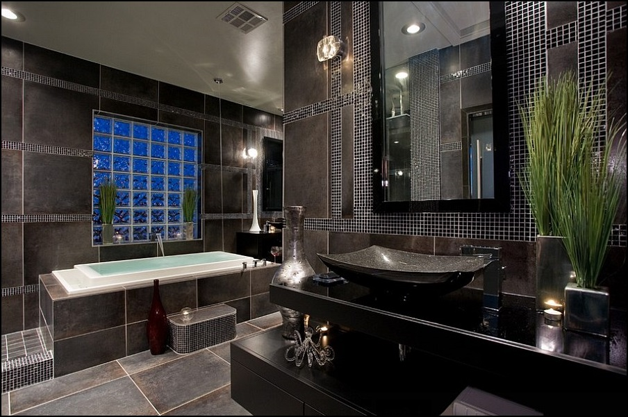 koyu-renk-banyo-dekorasyon-ornekleri