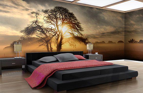 Gün-batımı-üç-boyutlu-duvar-kağıt-modeli