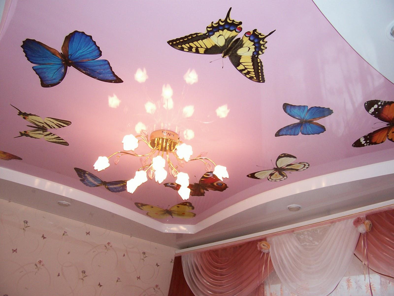 Kelebekli-Gergi-Tavan-Modeli