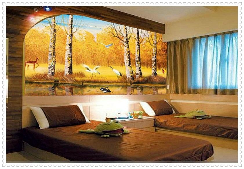 yatak-odası-için-modern-üç-boyutlu-3D-duvar-kağıdı-modelleri-ve-fikirleri
