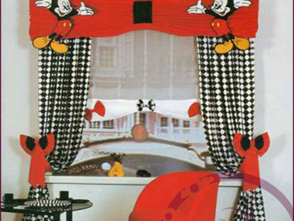 Miki-Mouse-Desenli-Taç-Marka-Bebek-Odası-Perde-Modeli