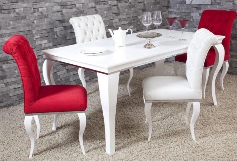 kırmızı-beyaz-renk-kombinli-yemek-masası