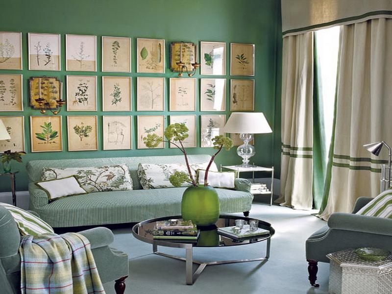 mint yeşili dekorasyon