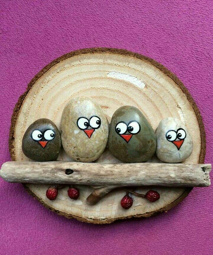 Taşlardan yapılan dekoratif desenler (13)