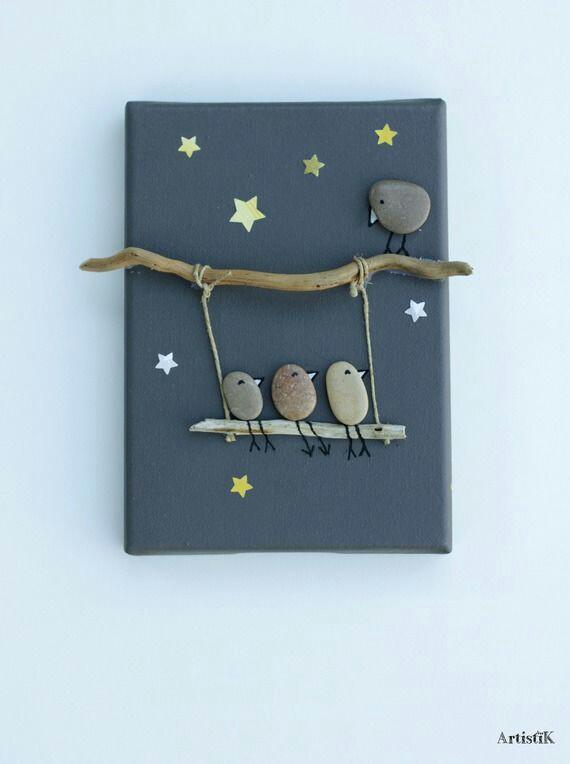 Taşlardan yapılan dekoratif desenler (3)