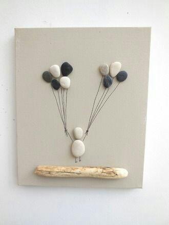 Taşlardan yapılan dekoratif desenler (4)