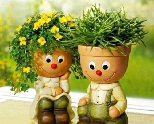 bahçe dekorasyon fikiri