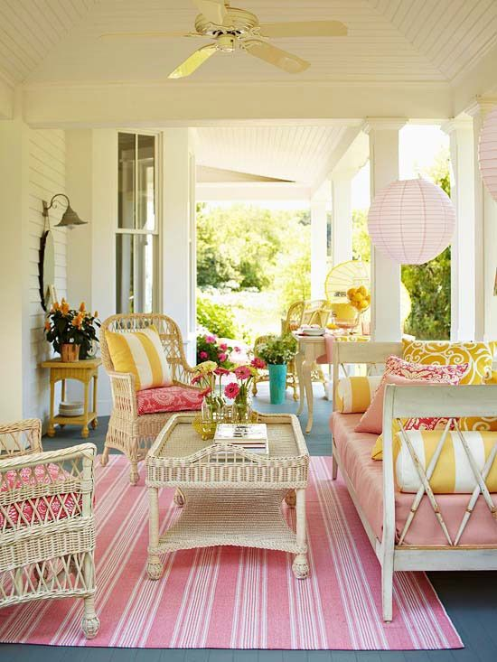 yazlık ev dekorasyonu