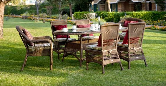 şık bahçe mobilya modelleri