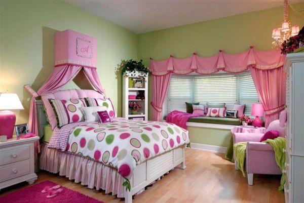 Genç kız odası dekorasyonü