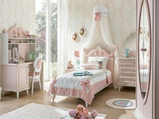 Genç kız odası dekorasyonları ,,,