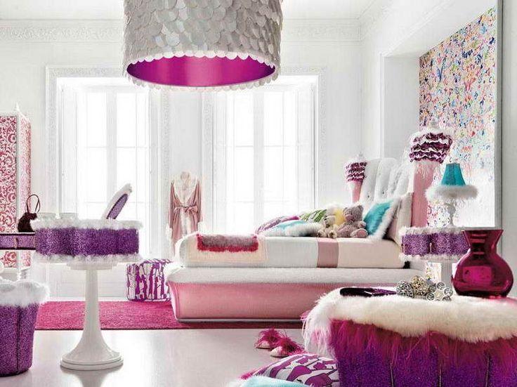Genç kız odası dekorasyonları
