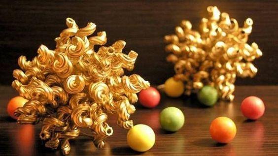 makarnadan dekoratif eşyalar