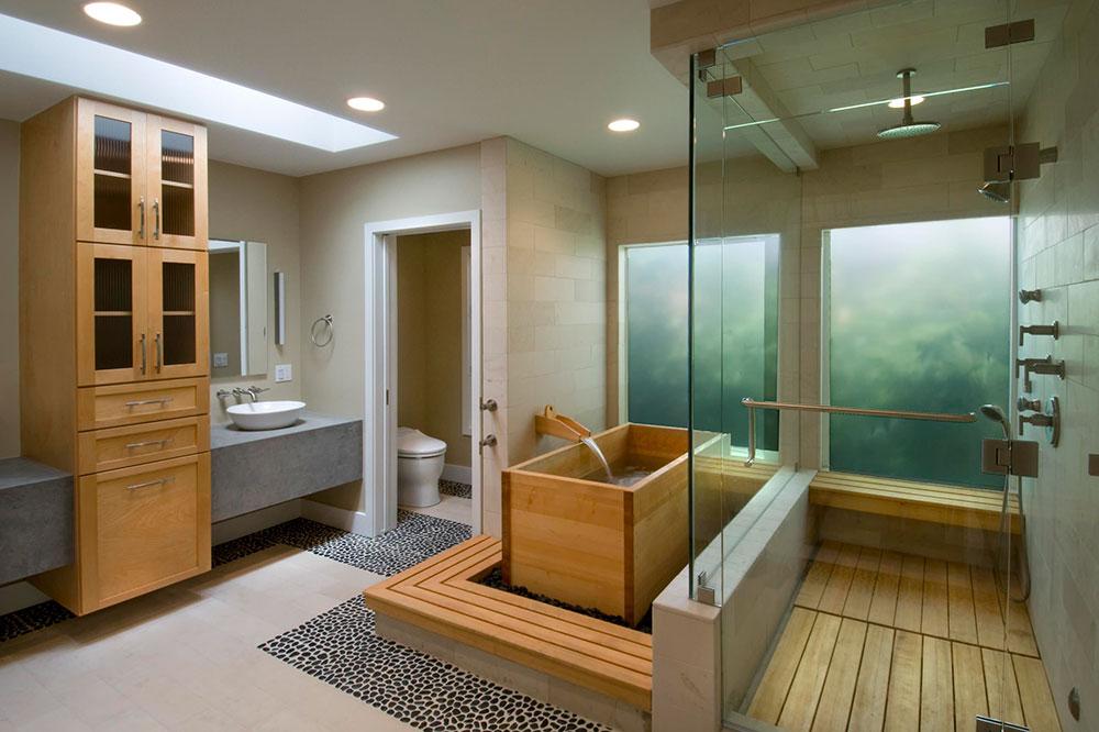 modern banyo dekoasyonu
