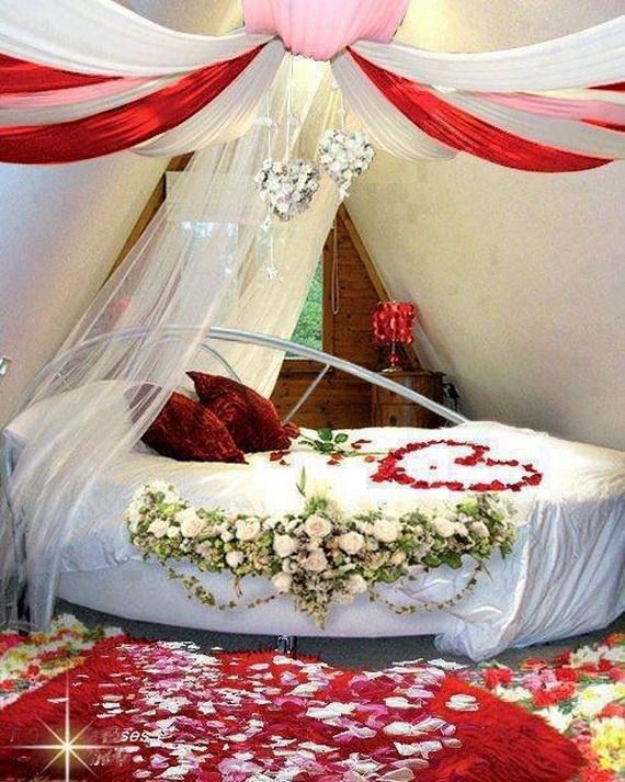 romantik yatak odası dizaynı