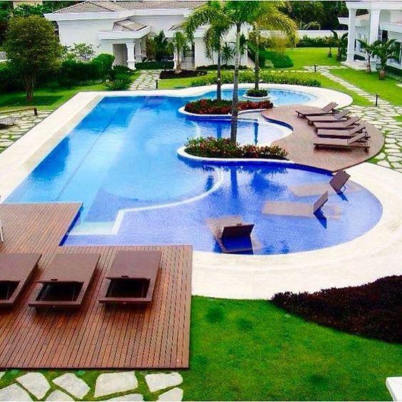 Bahçeli Ev Havuz Tasarımları
