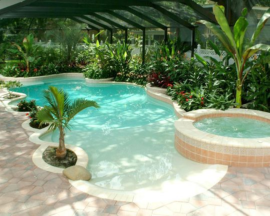 Bahçeli Ev Ve Villalara Özel Havuz Tasarımlar