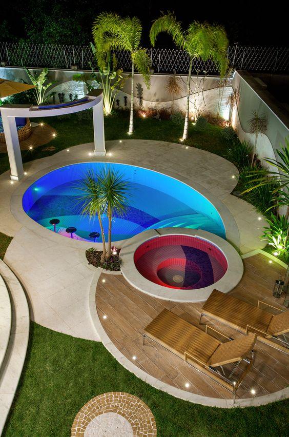 Bahçeli Evlere Özel Havuz Tasarımları