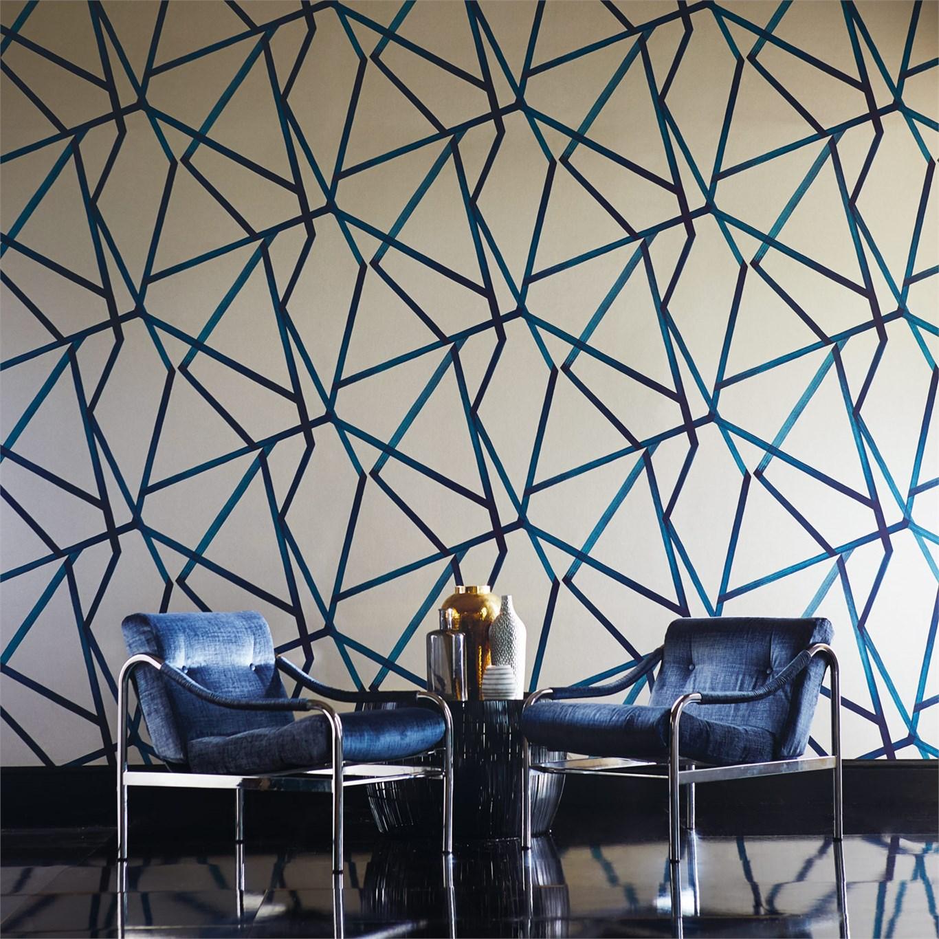 HARLEQUIN geometrik şekilşi Duvar Kağıtları