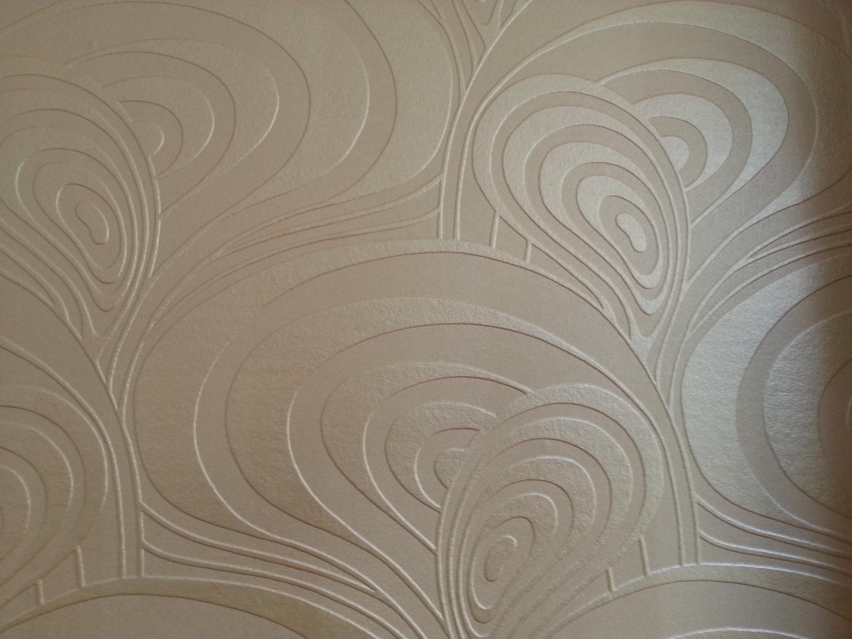 Kabartma Desenli Boyanabilen Duvar Kağıtları (7)