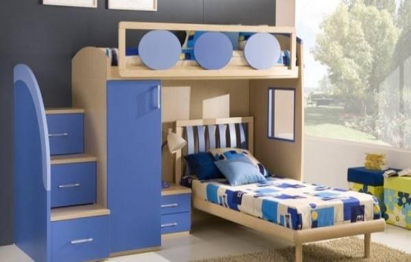 dolaplı ranzalı genç odası modelleri